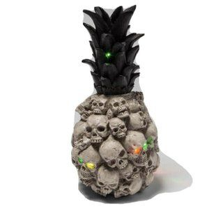 Halloween Color Changing Skull Pineapple